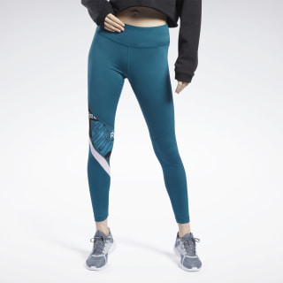 Meet You There Tights Heritage Teal FJ2697