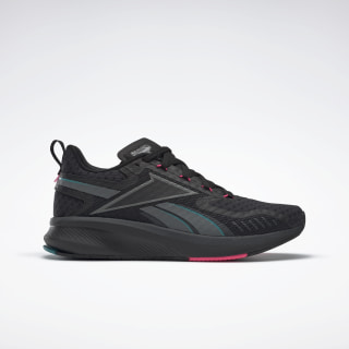 Fusium Run 20 Shoes Black / Alloy / Teal Gem EG9923