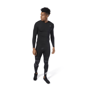 WOR Compression Tee Black DP6170