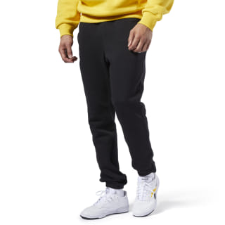 Jogger Pants Classic Leather Ft black EC4532