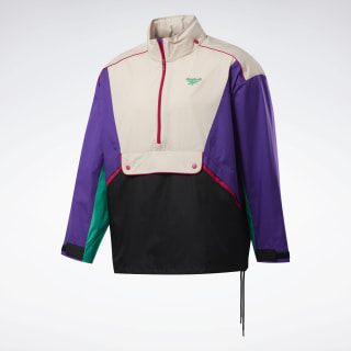 Classics Trail Windbreaker Regal Purple / Buff FM5022