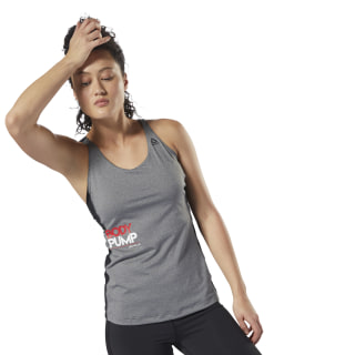 LES MILLS BODYPUMP Tank Dark Grey Heather DJ2185