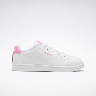 Reebok Royal Complete Clean 2.0 Shoes White / Solar Pink / White FV0287