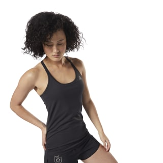 Camiseta LES MILLS® Long Bra Black DJ2214