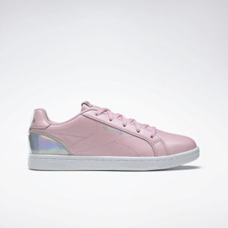 Reebok Royal Complete Clean Shoes Pink Glow / Ridescent DV9203