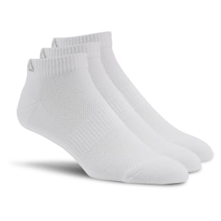 Sport Essentials Unisex No Show Sock - 3pack White AJ6238
