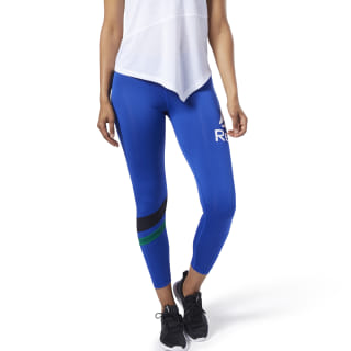 Legging avec grand logo Workout Ready Cobalt EC2358