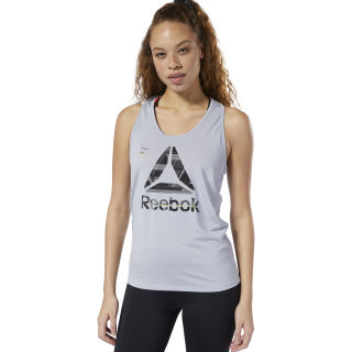 ACTIVCHILL Graphic Tank Top Cold Grey DP5638