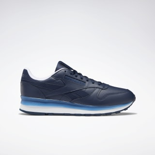 Classic Leather Shoes Collegiate Navy / Cyan / White DV8624