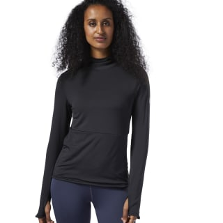 Sweat de running à capuche One Series Black EC2963