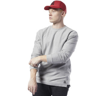 Training Essentials Twill Crew Medium Grey Heather EJ5987