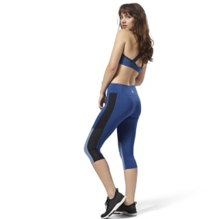 Workout Ready Capri Bunker Blue D95504