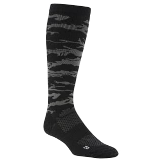 Reebok CrossFit Compression Knee Socks Black CZ9896