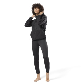 Training Essentials Woven Hoodie Black CY3593