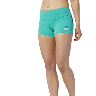 Reebok CrossFit® Chase Bootie Shorts Emerald DY8376