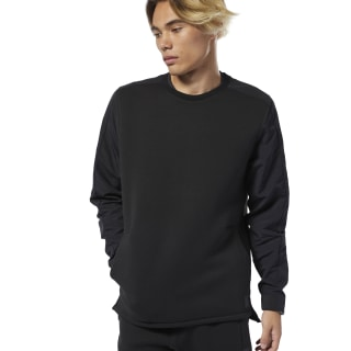 Training Supply Crew Sweatshirt Black DU3709