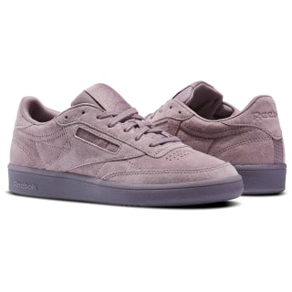 Club C 85 Lace Smoky Orchid/White BS6529
