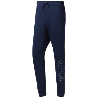 Big Logo Pant Collegiate Navy / White D94295