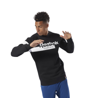 Classics Disruptive Fleece Crewneck Black DH2077