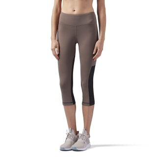 Spodnie Mesh Capri Brown/Smoky Taupe CD3807