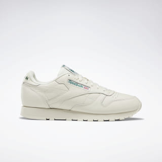 Classic Leather Shoes Chalk / Paperwhite / Green DV8814