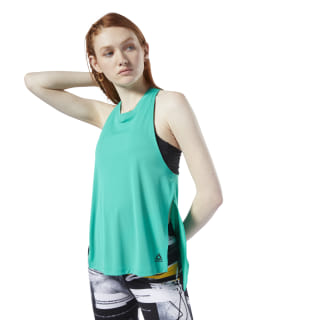 Meet You There Tank Top Turquoise EC2383