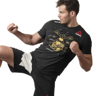 T-shirt en jersey UFC Fight Kit Black / Ufc Gold DN2425