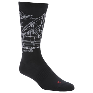 Active Enhanced Crew Socks Black DU3029