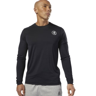 Froning ACTIVCHILL Long Sleeve Move Tee Black DN5906