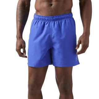 Beachwear Basic Boxer Shorts Acid Blue CD5739
