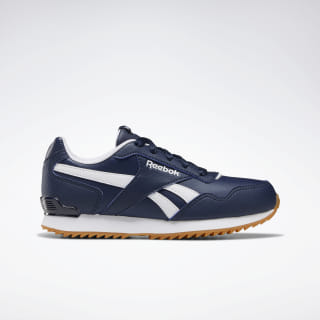 Reebok Royal Glide Ripple Shoes Collegiate Navy / White / Gum DV8946