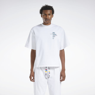 Reebok by Pyer Moss Graphic T-Shirt White FN2536
