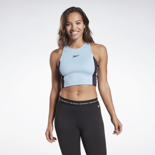 LES MILLS® Low-Impact Cycling Bra Fluid Blue FM7129