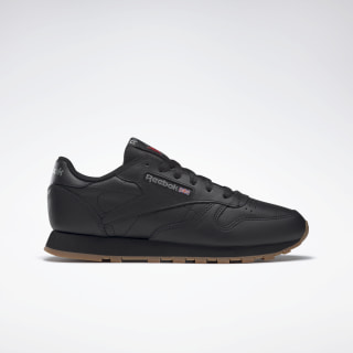 Zapatillas Classic Leather Intense Black / Gum 49804