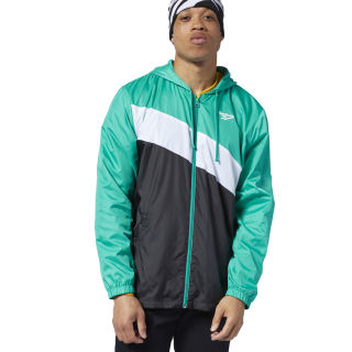 Classics Vector Windbreaker Emerald EC4560