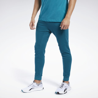 Pantalón de chándal Training Essentials Linear Logo Heritage Teal FJ4677