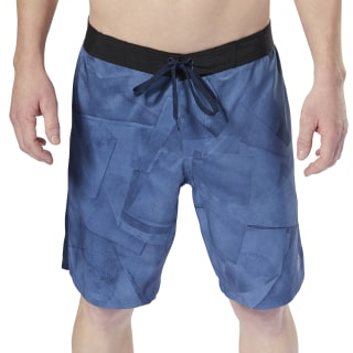 Workout Ready Graphic Board Short Bunker Blue D94273