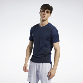 United by Fitness ACTIVCHILL Vent Tee Collegiate Navy FQ4393
