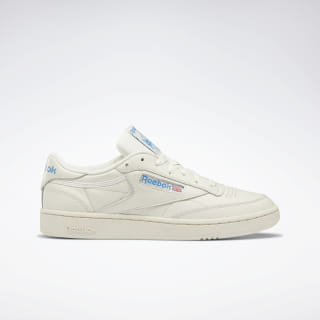 Club C 85 Shoes Chalk / Paperwhite / Cyan DV8811
