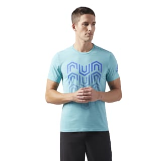 Remera de Running TURQUOISE S18-R CW0466