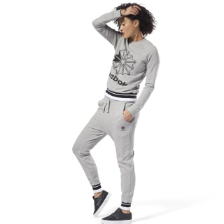 Classics French Terry Pant Medium Grey Heather DH1409