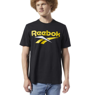T-shirt Classics Vector Black / Toxic Yellow EC4520