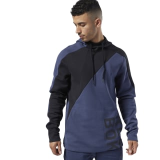 Sudadera One Series Training Colorblock Heritage Navy EC0990