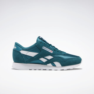 Classic Nylon Women's Shoes Heritage Teal / Seaport Teal / White EG5863
