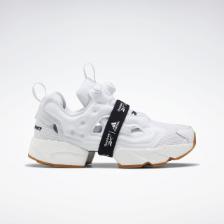 Instapump Fury Boost Shoes White / Black / Reebok Rubber Gum-06 FU9238