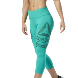 Reebok CrossFit® Lux 3/4 Tights Emerald EC1454