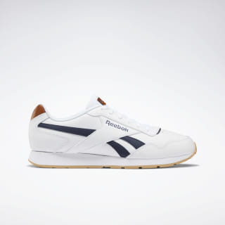Reebok Royal Glide Shoes White / Collegiate Navy / Gum DV8781