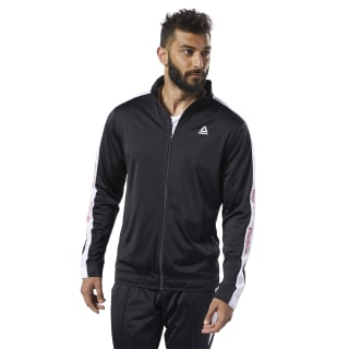 Chaqueta de chándal Training Essentials Linear Logo Black FI1940