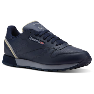 Classic Leather Sptlt-Collegiate Navy/Cool Shadow/Parchment CN3642