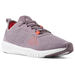 Zapatillas Reebok Flexagon Noble Orchid / Lilac Fog / White / Neon Red DV4161